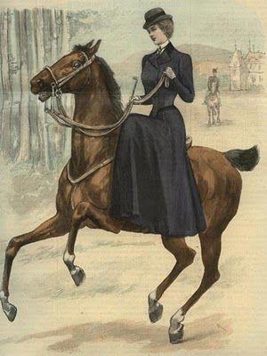 Amazzone, illustrazione di inizio Novecento, da Pinterest