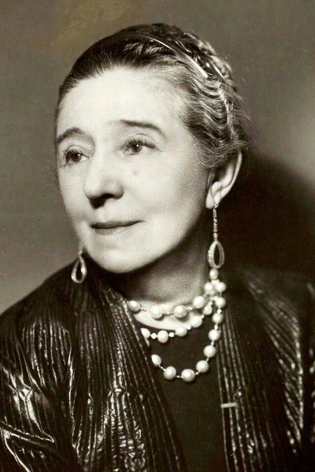 Jeanne Lanvin in età matura