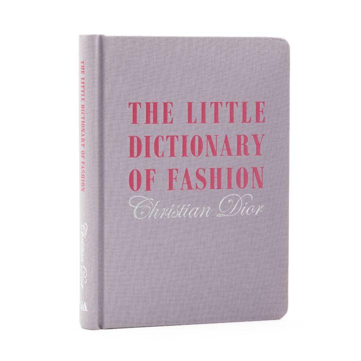 """La copertina dell'edizione del 2007 di """"The little dictionary of fashion"""" di Christian Dior uscito per la prima volta nel 1954"""